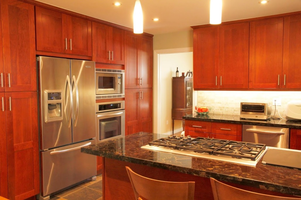 Wood Kitchen Cabinets Montreal South Shore West Island KSI