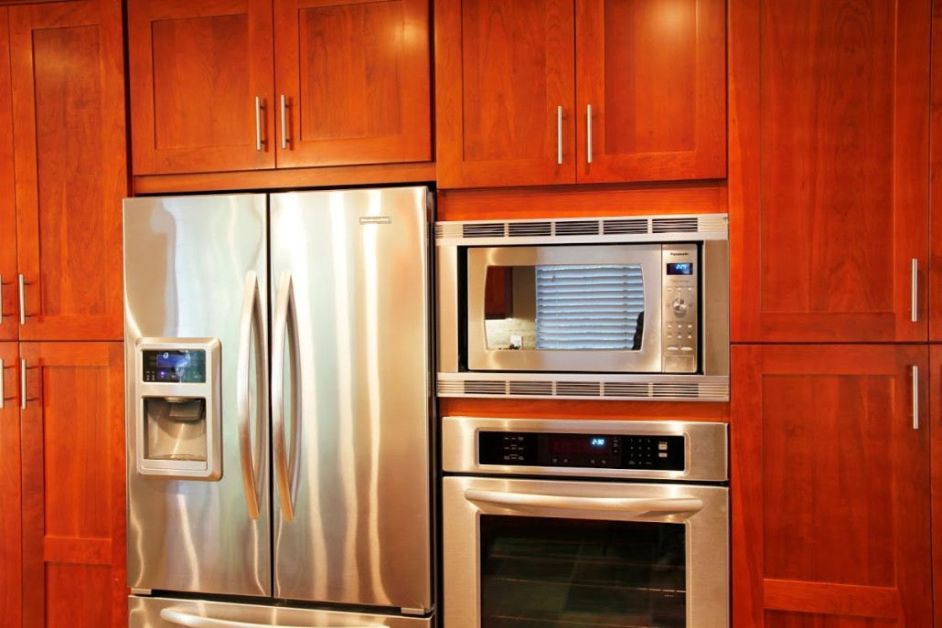 Wood kitchen cabinets montreal south shore west island for Armoires de cuisine shaker