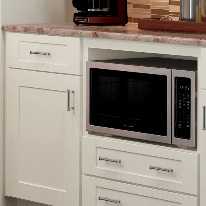 Kitchen Counters Montreal: Microwave Cabinet