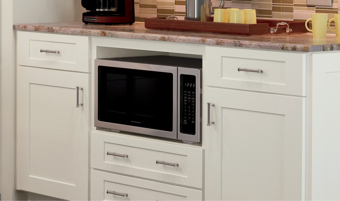 Microwave cabinet - ksicabinetry