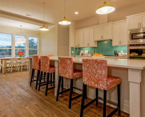 coastal kitchen big island