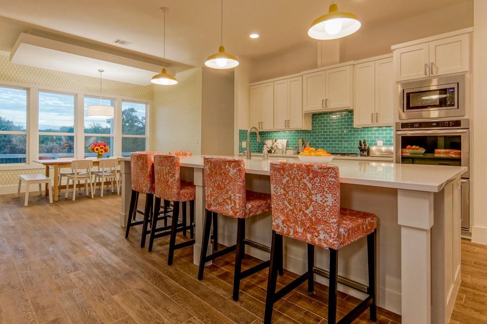 coastal kitchen big island