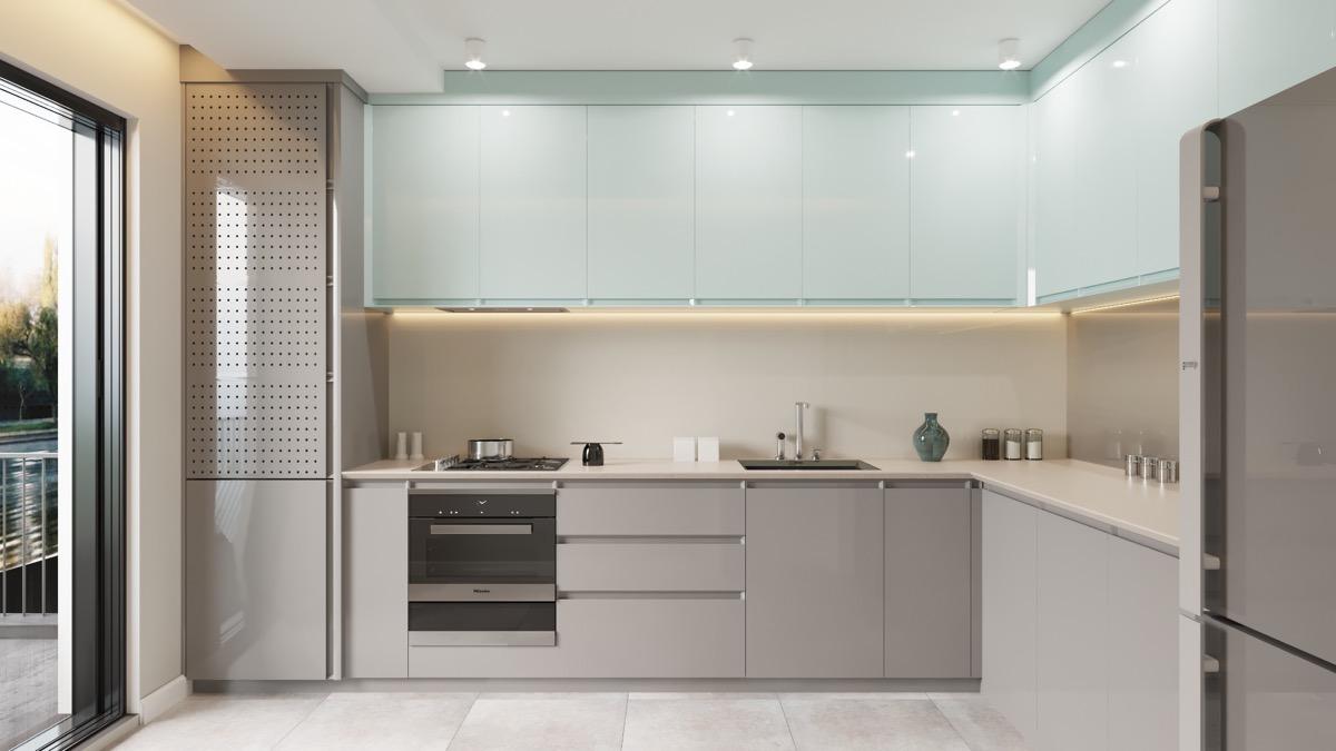 Modern Kitchen Highgloss