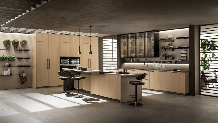 Cuisine Moderne Modern Kitchen