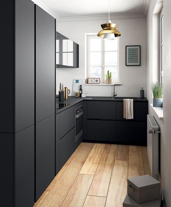 Modern Kitchen Black