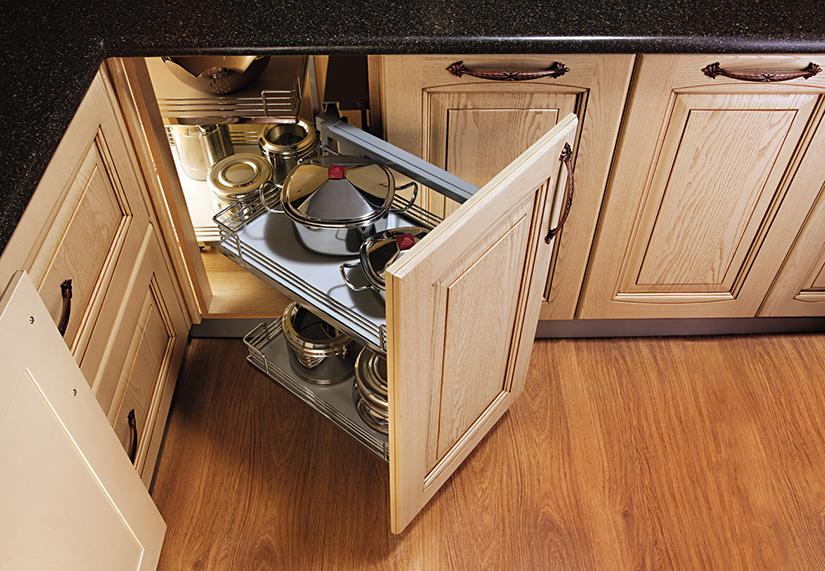 Small Kitchen Storage Solutions, Corner Kitchen Cabinet Storage Ideas