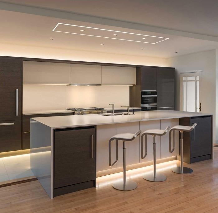 Great Ways For Lighting A Kitchen: Ways To Light Your Kitchen With Leds