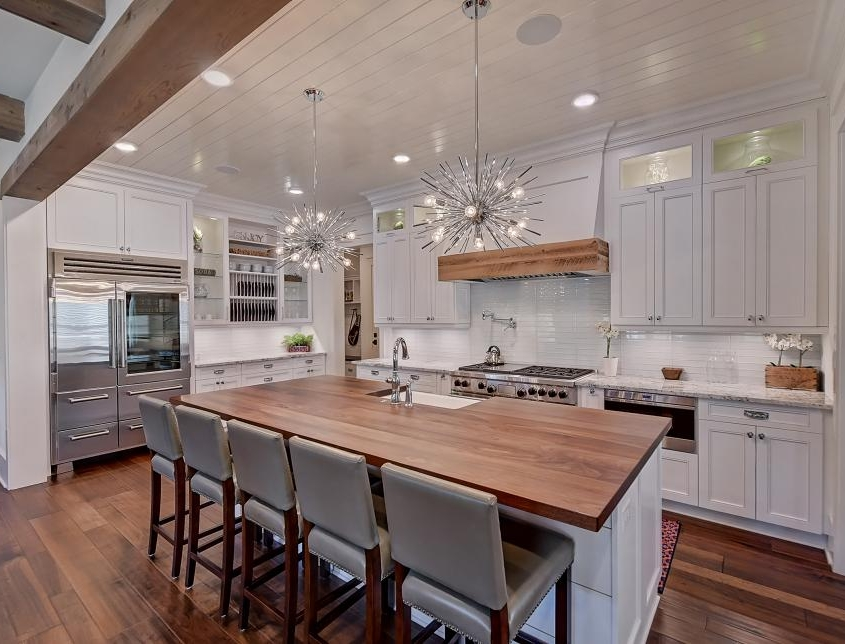 contemporary cottage kitchen