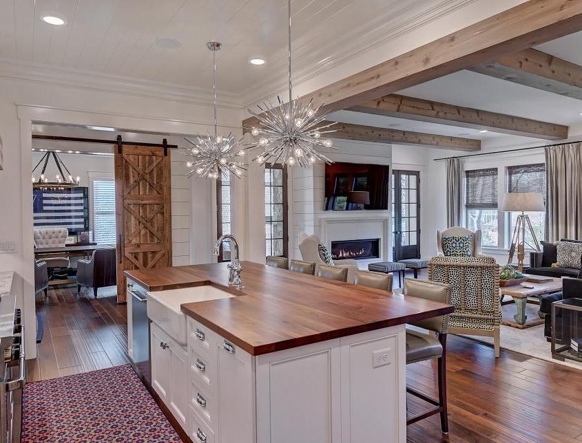 contemporary cottage kitchen