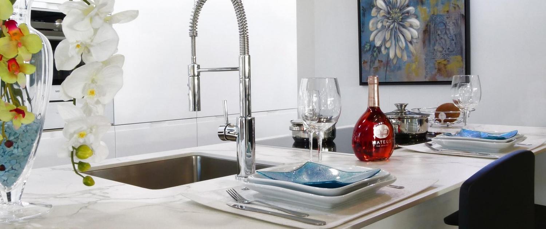 Kitchen countertops sinks faucet