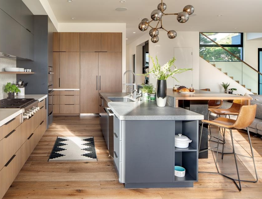 Minimalist Modern Kitchen Coastal Kitchen