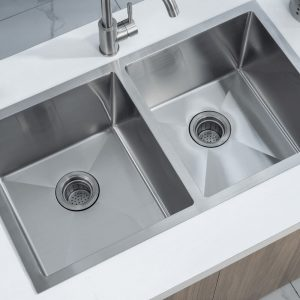 The Best Kitchen Sinks Montreal Stainless steel single sink Évier simple acier inoxydable Stainless steel double sink Évier double acier inoxydable