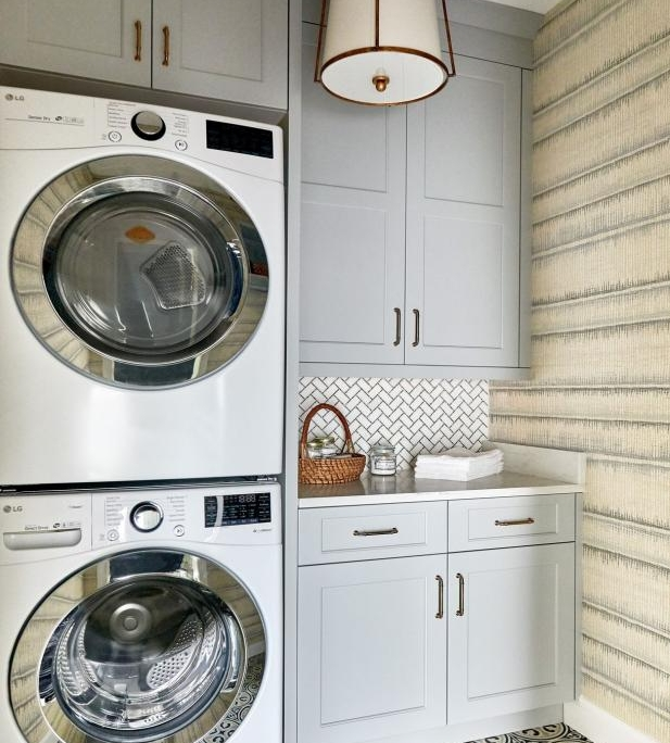 Looking to freshen up your laundry room space?