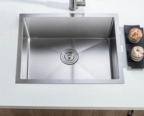 """Single Bowl 23"""" Kitchen Sink"""