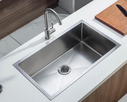 """Single Bowl 28"""" Kitchen Sink"""