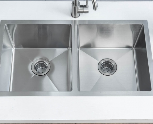 "Double Bowl 30"" Kitchen Sink"