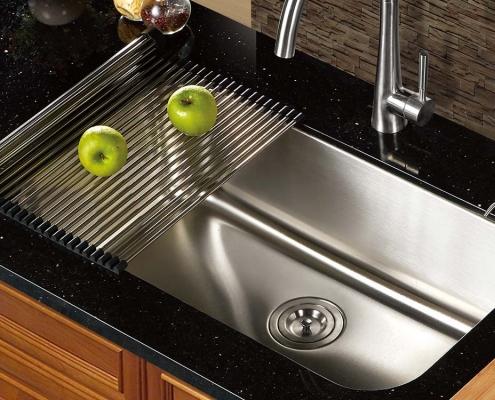 """Single Bowl 30""""x 18"""" Kitchen Sink"""