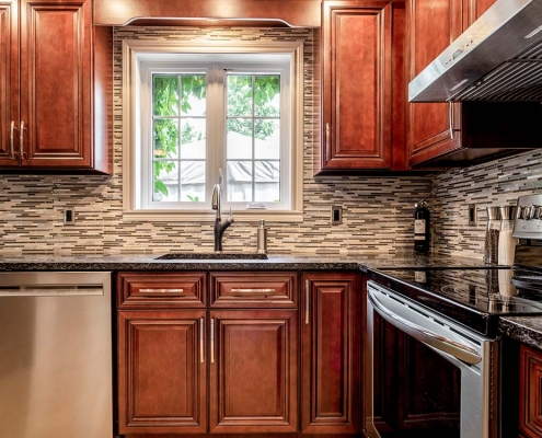 montreal wood kitchen cabinets