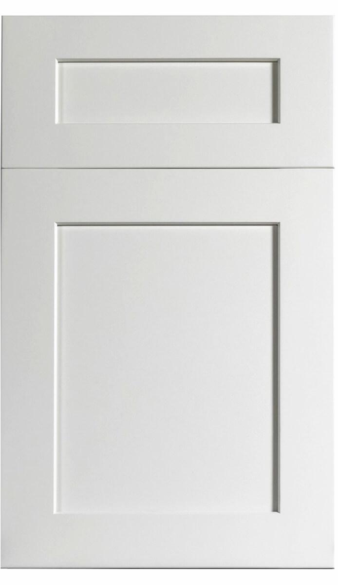 White Kitchen Cabinet Solidwood - Midtown