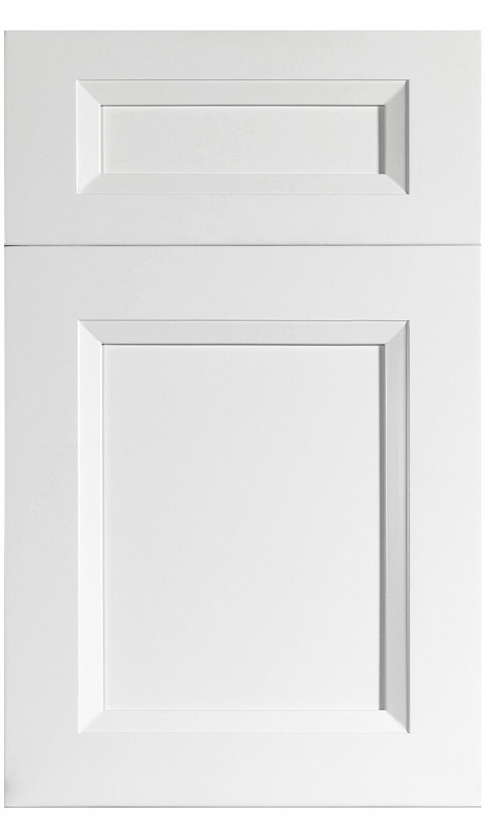 White Kitchen Cabinet Solidwood - Sonoma Armoire de cuisine blanche en bois massif - Sonoma