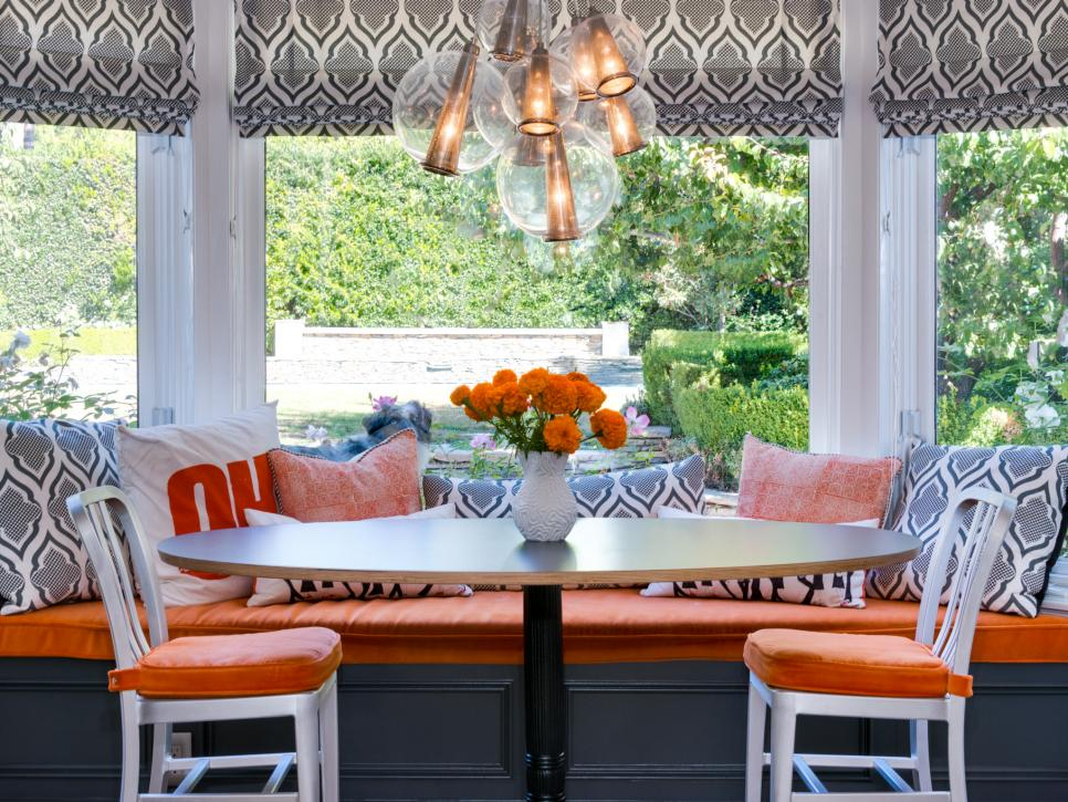 Orange Kitchens to Inspire
