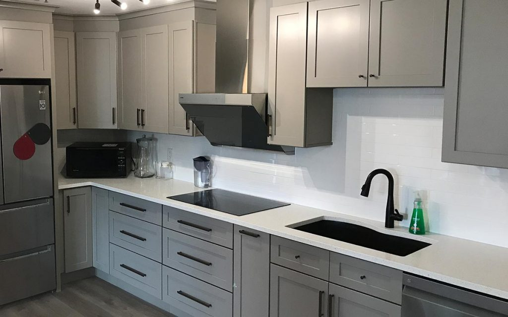 Shaker hudson kitchen cabinets Montreal