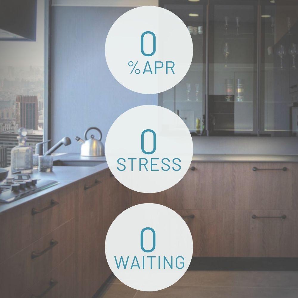 0% APR financing for kitchen renovation ksi
