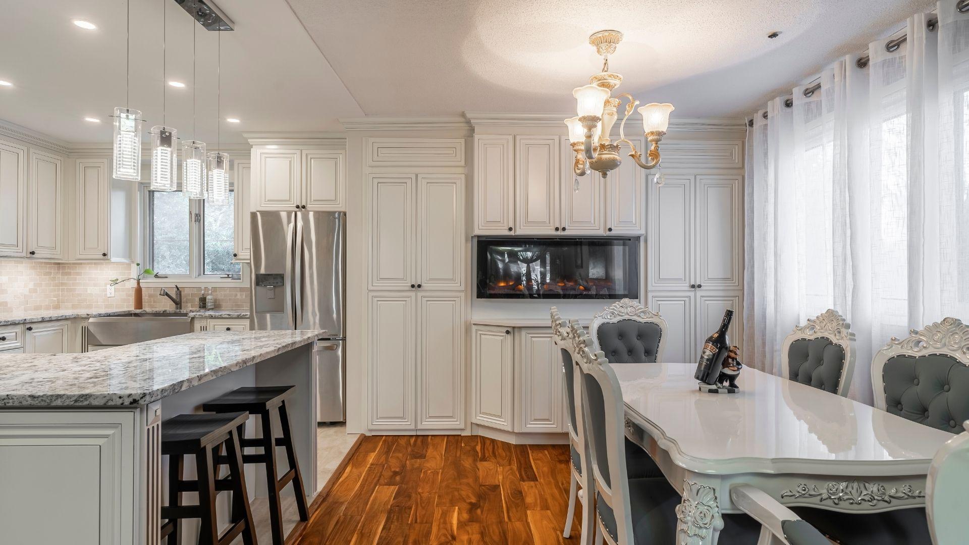 Pierrefonds kitchen renovation after