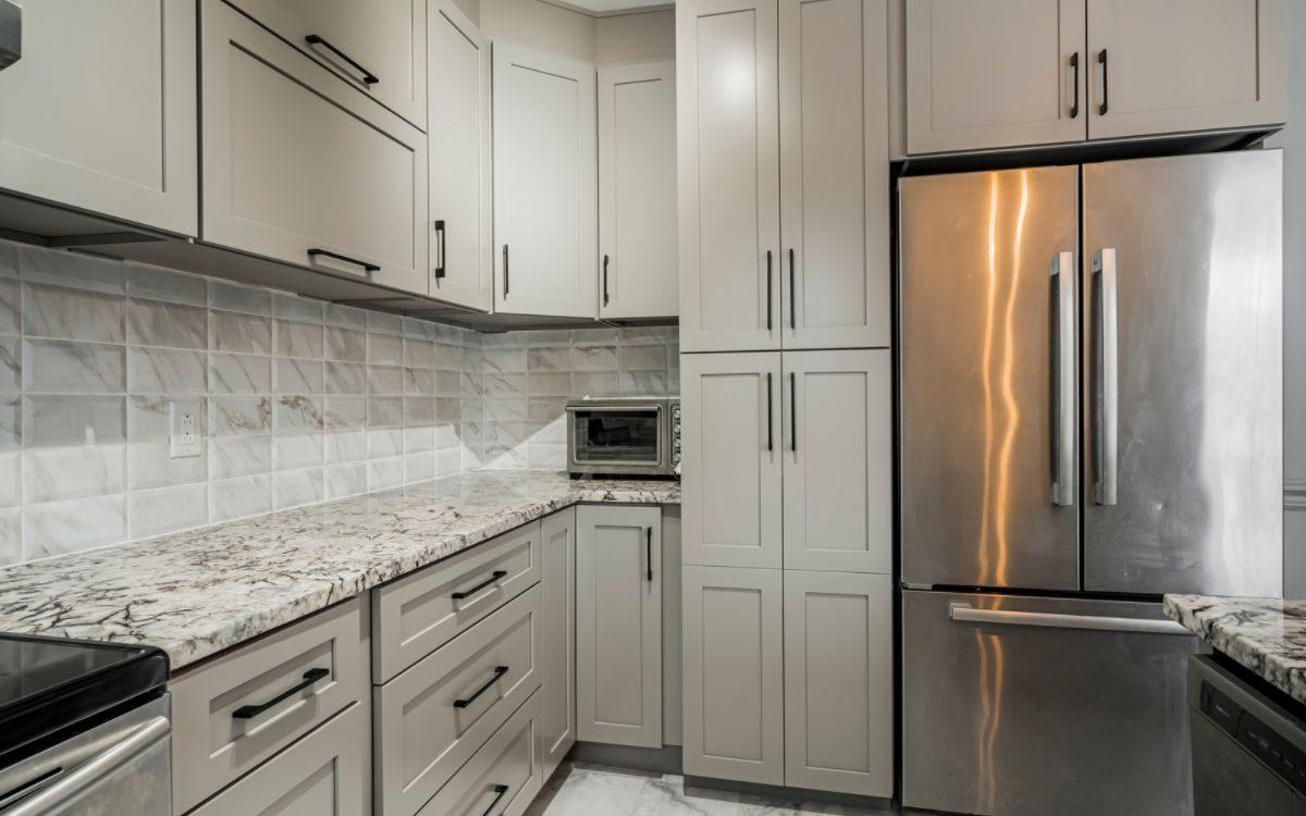 Shaker kitchen cabinets Brossard Armoires de cuisine Shaker Brossard