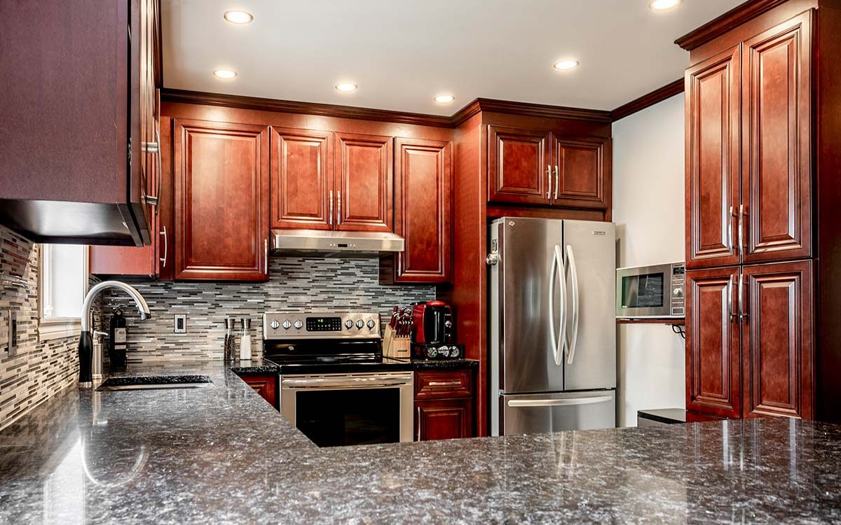 cambridge Montreal wood kitchen cabinets