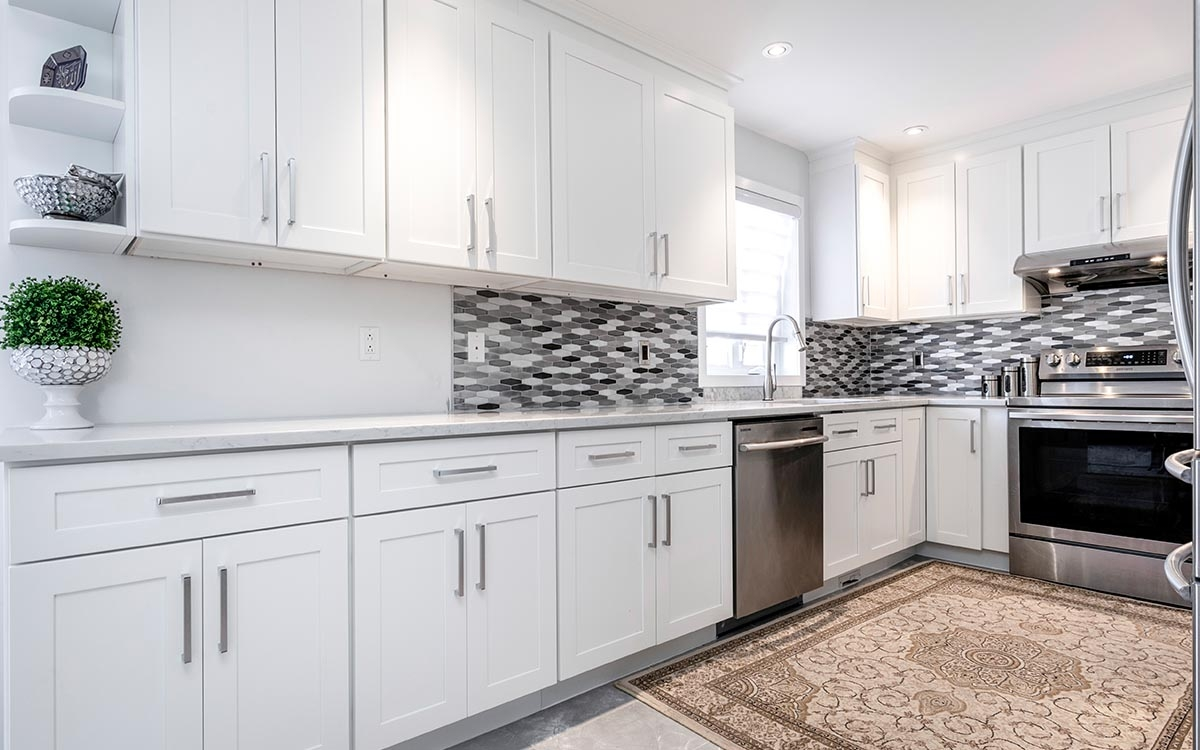 white kitchen cabinets montreal